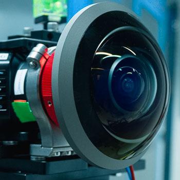 Kamera für 360-Grad-Aufnahmen