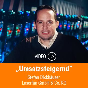 Stefan Dickhäuser, Laserfun GmbH & Co. KG