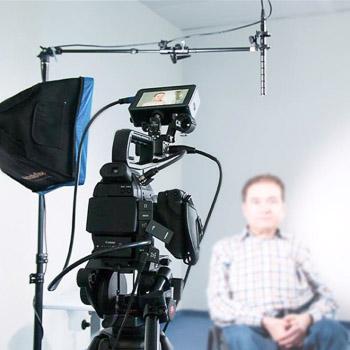 Kamera und Ton im Einsatz