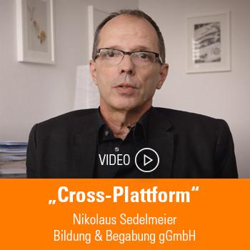 Nikolaus Sendelmeier; Bildung & Begabung gGmbH