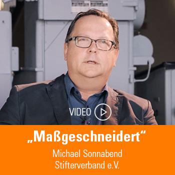 Michael Sonnabend, Stifterverband e.V.