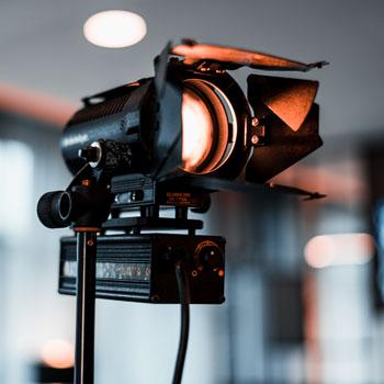 Spot für Aufnahmen