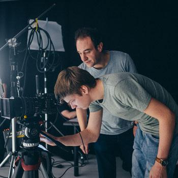 Kameramann und Regisseur