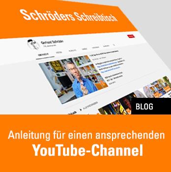 Anleitung für einen ansprechenden YouTube-Channel