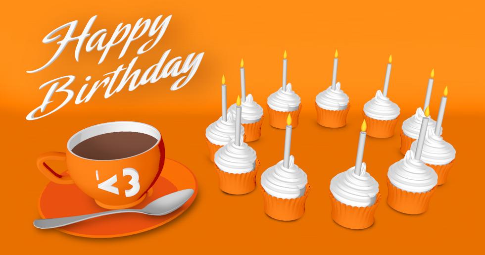 Drei Geburtstage für K3 - 11 Jahre Kreative KommunikationsKonzepte GmbH