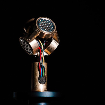Mikrofon für dreidimensionalen Sound